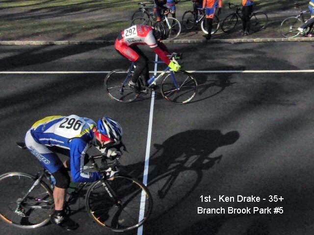 ken drake wins at branch brook